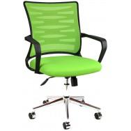 Bürocci Alisa Metal Ayaklı Çalışma Koltuğu-Yeşil-2063A0543