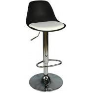 Boombar Nadya Bar Sandalyesi - Beyaz Deri - 9537S0109